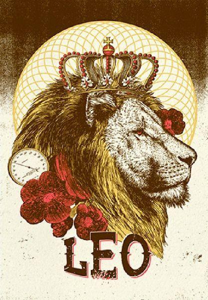 Leo Zodiac Horoscope Sign Symbol Tattoo Designs (68)