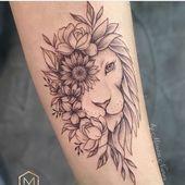 Leo Zodiac Horoscope Sign Symbol Tattoo Designs (71)