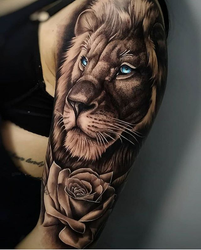 Leo Zodiac Horoscope Sign Symbol Tattoo Designs (73)