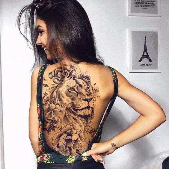 Leo Zodiac Horoscope Sign Symbol Tattoo Designs (82)