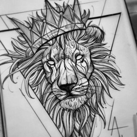 Leo Zodiac Horoscope Sign Symbol Tattoo Designs (90)