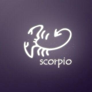 Scorpio Zodiac Horoscope Constellation Sign Symbol Tattoo (129)