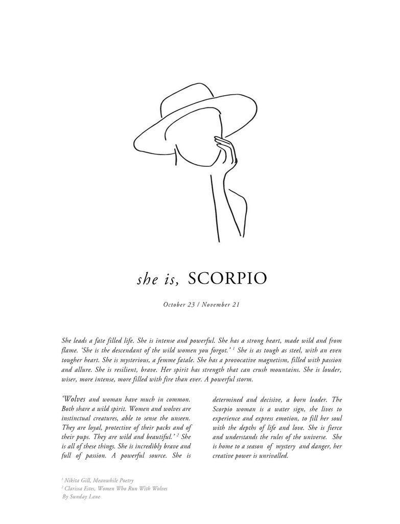 Scorpio Zodiac Horoscope Constellation Sign Symbol Tattoo (142)