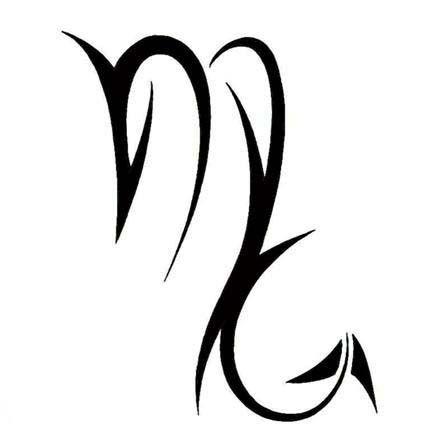 Scorpio Zodiac Horoscope Constellation Sign Symbol Tattoo (179)