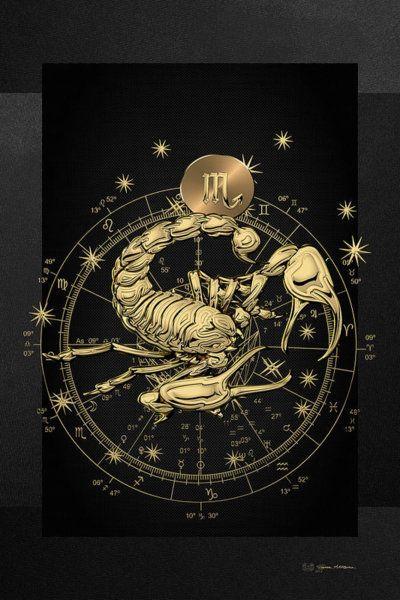 Scorpio Zodiac Horoscope Constellation Sign Symbol Tattoo (23)
