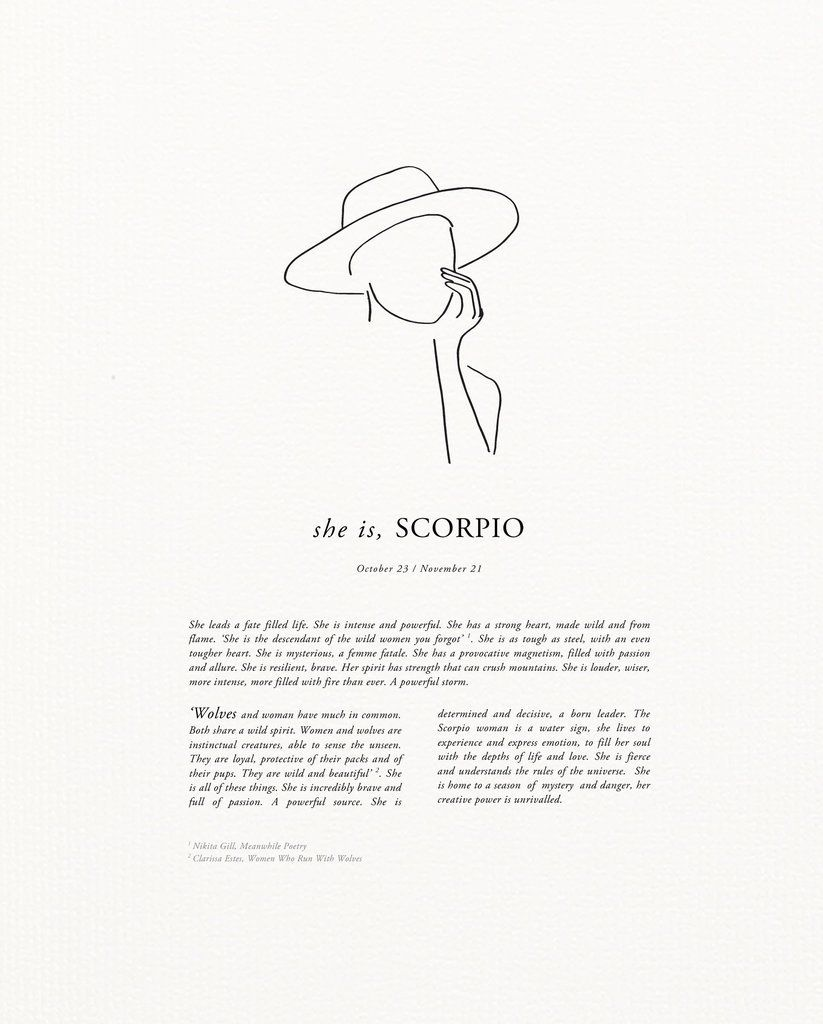 Scorpio Zodiac Horoscope Constellation Sign Symbol Tattoo (66)