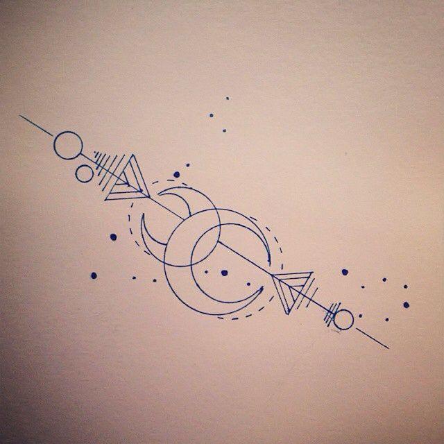 Scorpio Zodiac Horoscope Constellation Sign Symbol Tattoo (76)