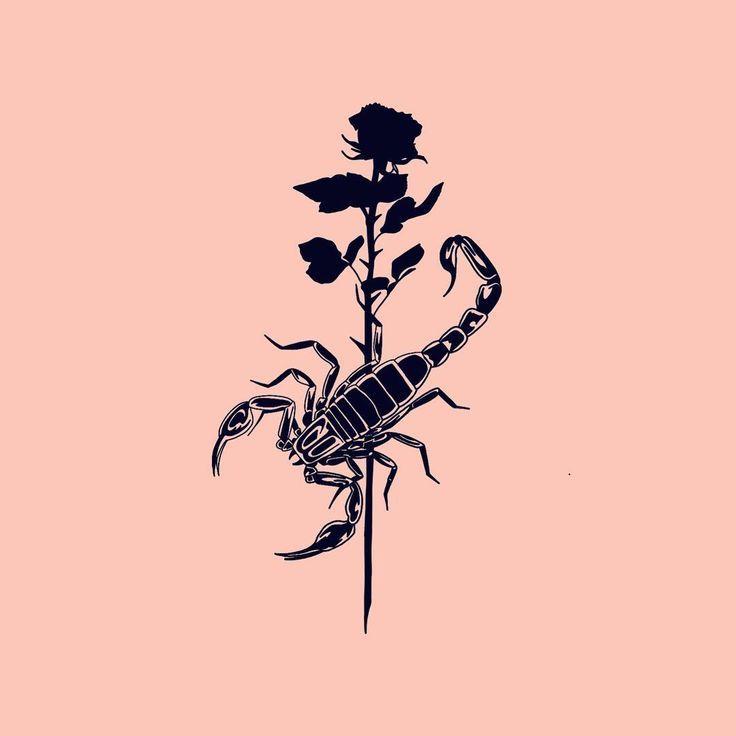 Scorpio Zodiac Horoscope Constellation Sign Symbol Tattoo (89)