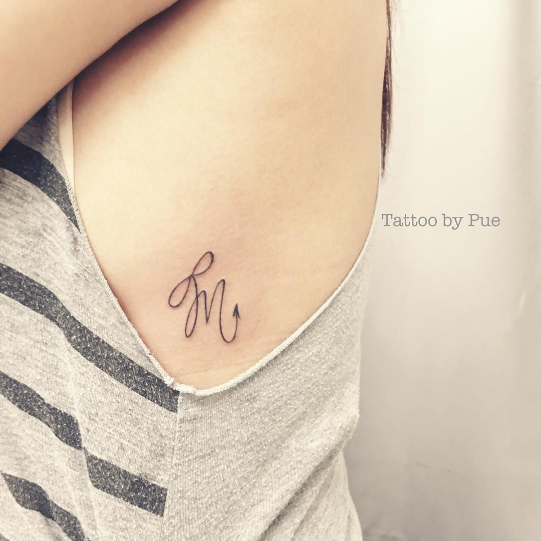Scorpio Zodiac Horoscope Constellation Sign Symbol Tattoo (97)