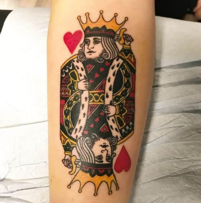 Card Forearm Tattoos