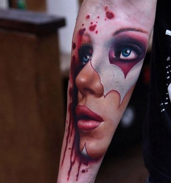 Portrait Forearm Tattoos