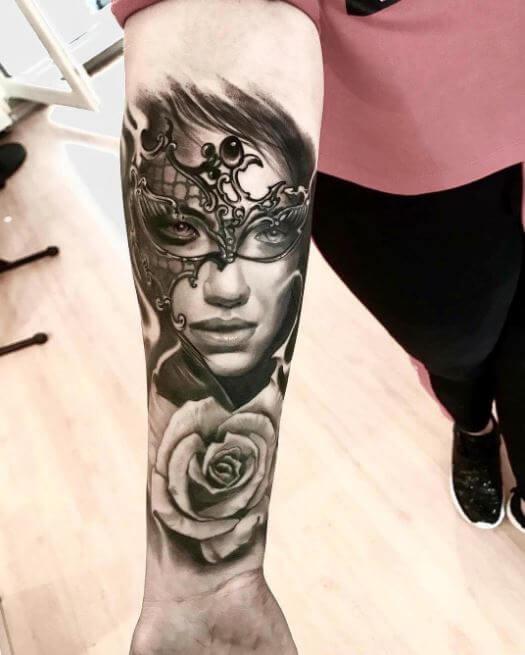 Forearm Half Sleeve Tattoo Ideas