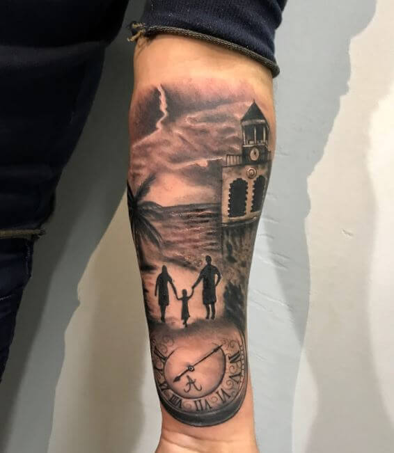 Forearm Tattoo For Guys
