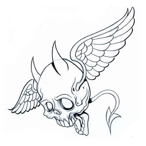 Half Angel Half Devil Tattoo Designs (104)
