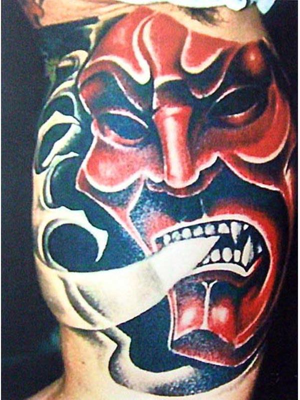 Half Angel Half Devil Tattoo Designs (11)