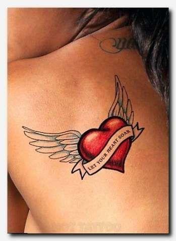 Half Angel Half Devil Tattoo Designs (124)