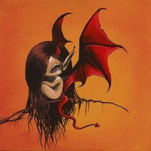 Half Angel Half Devil Tattoo Designs (125)