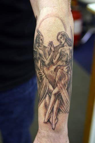 Half Angel Half Devil Tattoo Designs (132)