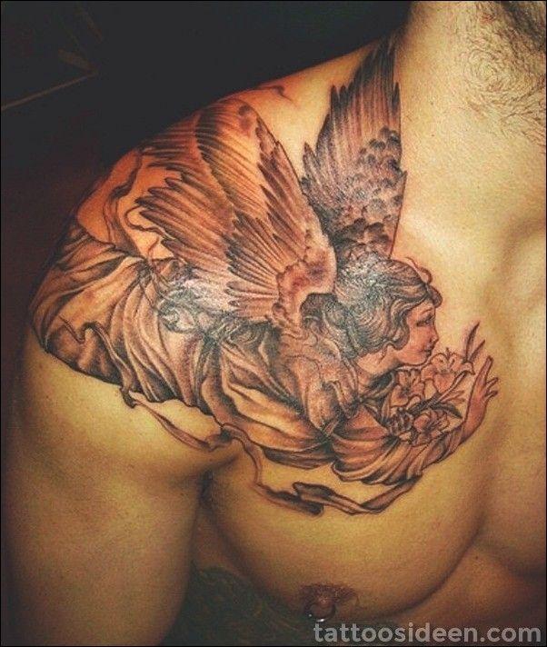Half Angel Half Devil Tattoo Designs (146)