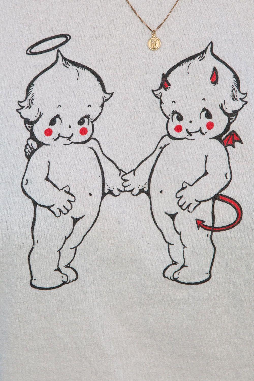Half Angel Half Devil Tattoo Designs (15)