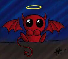 Half Angel Half Devil Tattoo Designs (152)