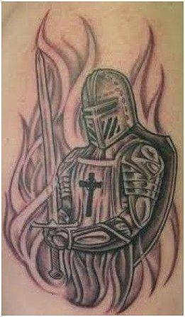 Half Angel Half Devil Tattoo Designs (159)