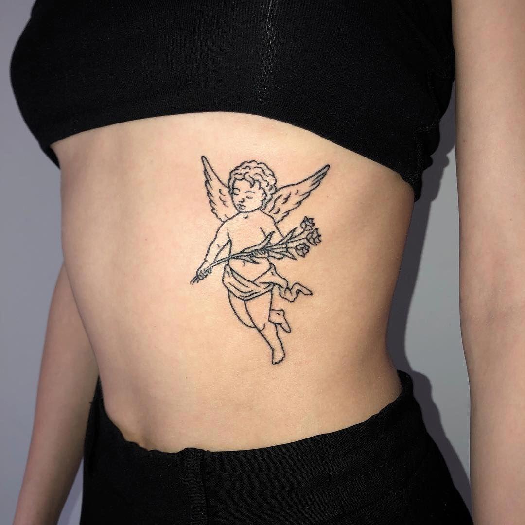 Half Angel Half Devil Tattoo Designs (169)