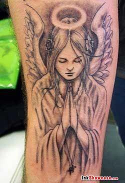 Half Angel Half Devil Tattoo Designs (170)