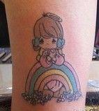 Half Angel Half Devil Tattoo Designs (172)