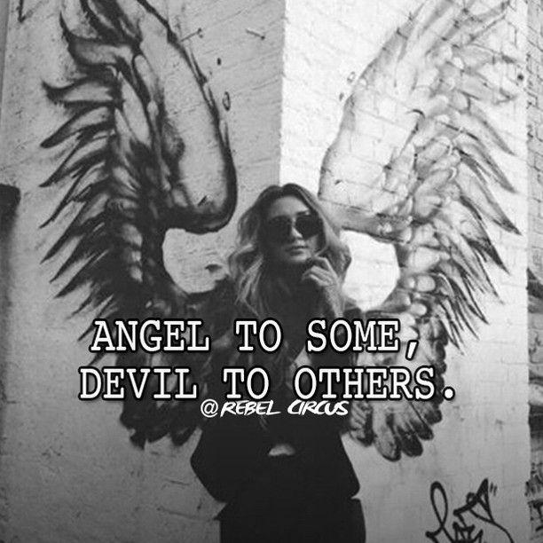 Half Angel Half Devil Tattoo Designs (233)
