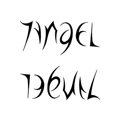 Half Angel Half Devil Tattoo Designs (31)