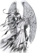 Half Angel Half Devil Tattoo Designs (45)