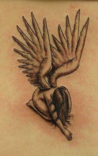 Half Angel Half Devil Tattoo Designs (47)