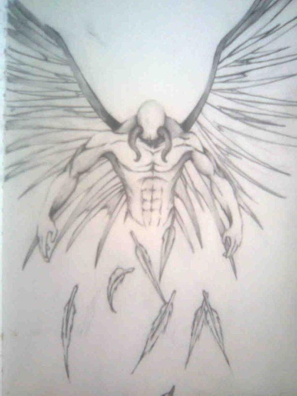 Half Angel Half Devil Tattoo Designs (57)