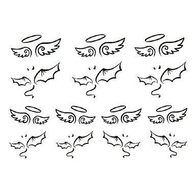 Half Angel Half Devil Tattoo Designs (62)