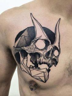 Half Angel Half Devil Tattoo Designs (70)
