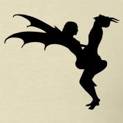 Half Angel Half Devil Tattoo Designs (8)