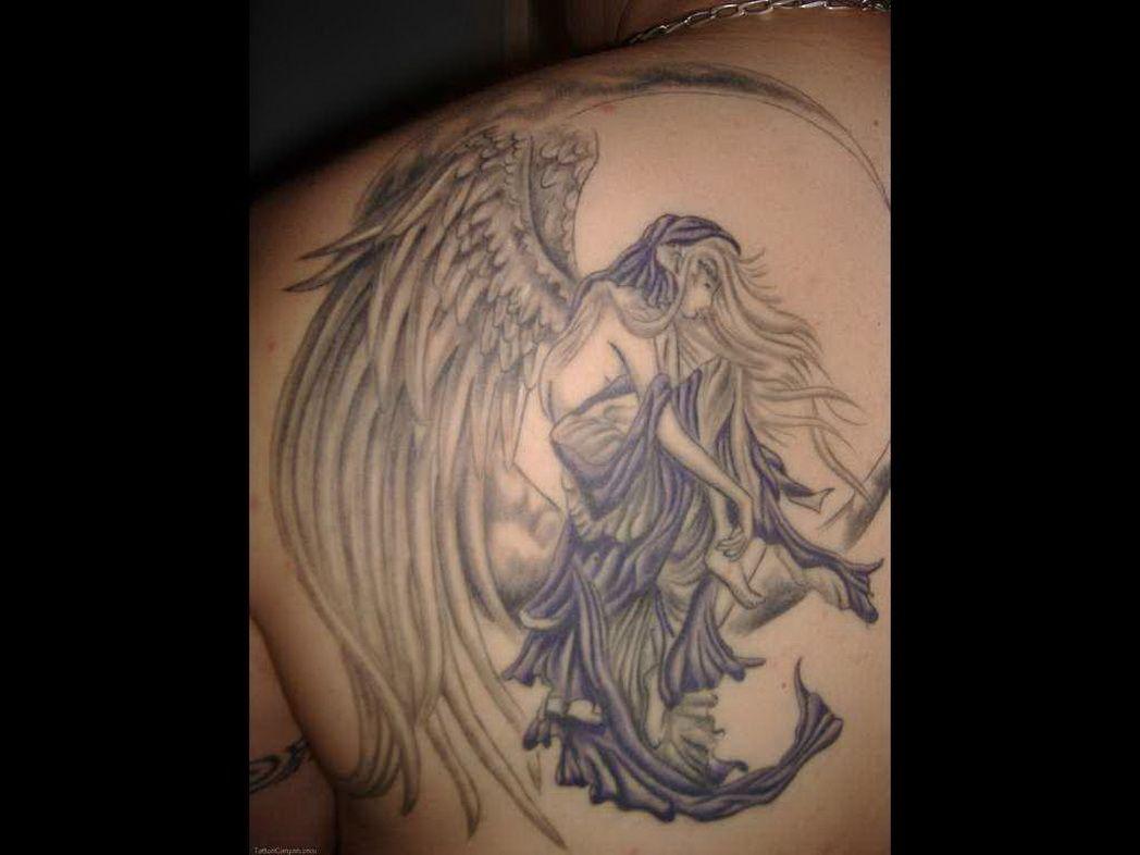 Half Angel Half Devil Tattoo Designs (87)