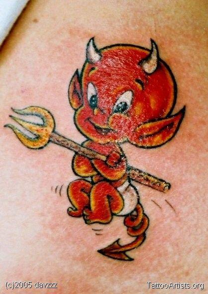 Half Angel Half Devil Tattoo Designs (96)