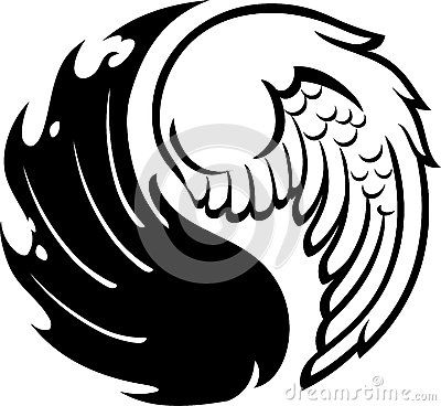 Half Angel Half Devil Tattoo Designs (98)