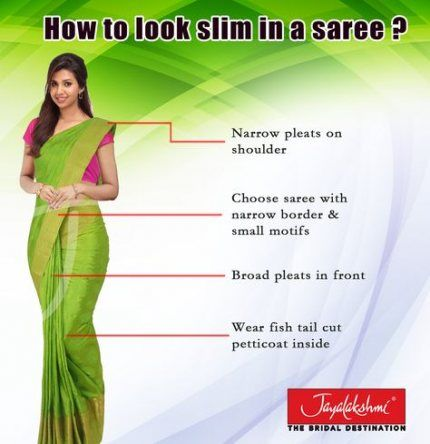 How To Wear The Saree Methods Blouse (160)