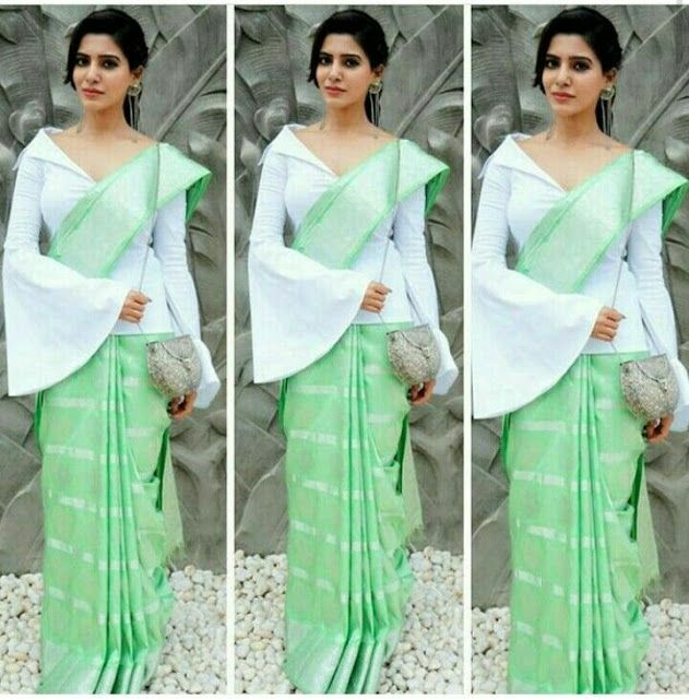 How To Wear The Saree Methods Blouse (28)