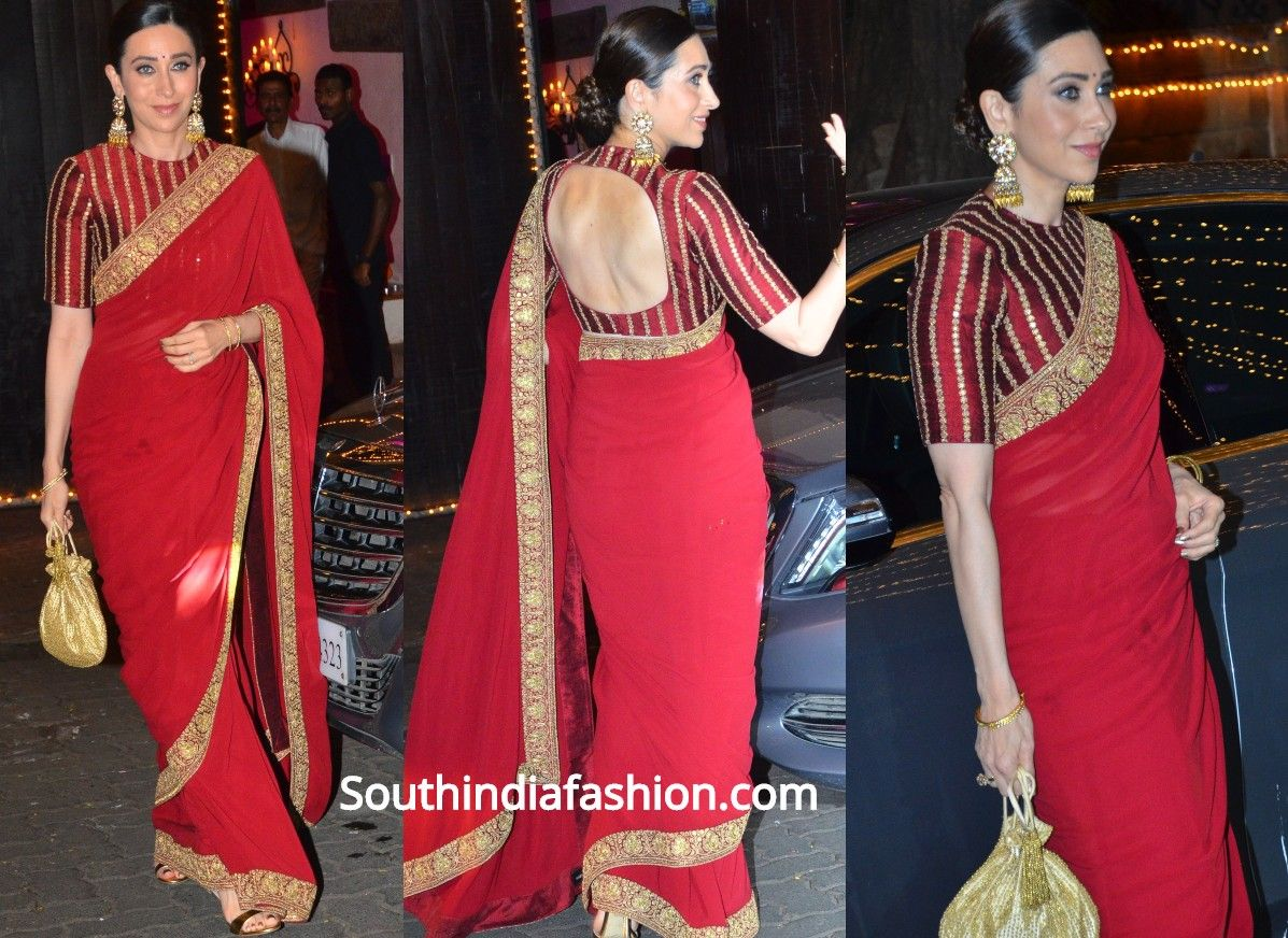How To Wear The Saree Methods Blouse (48)