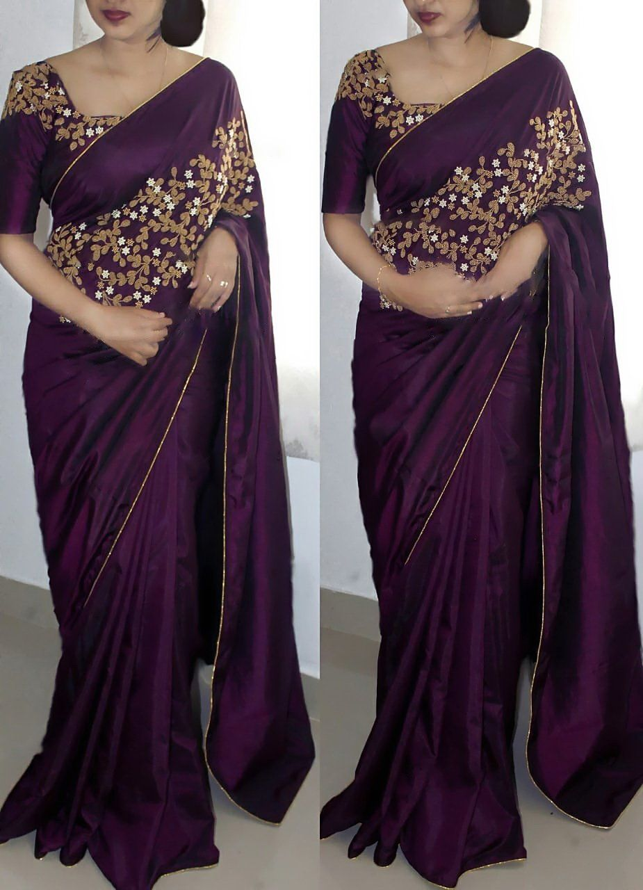 How To Wear The Saree Methods Blouse (75)