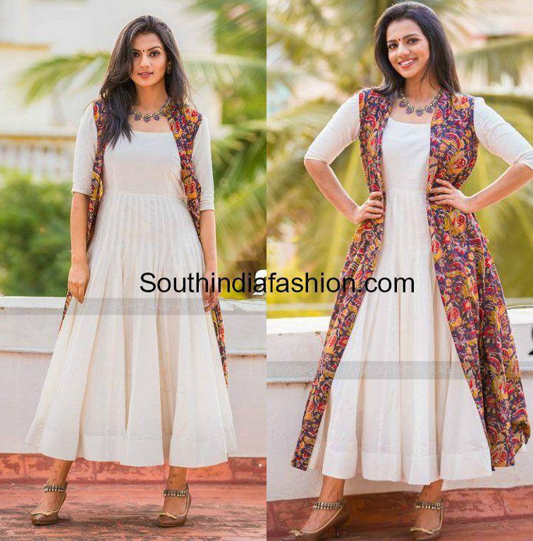 Kalamkari Saree Work Blouse Designs (128)