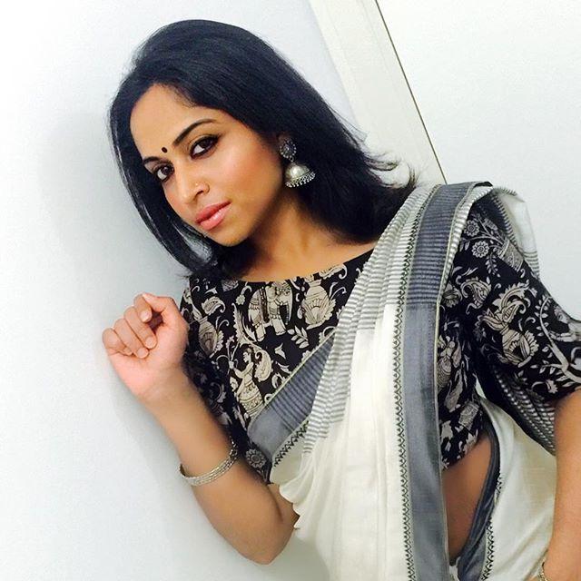 Kalamkari Saree Work Blouse Designs (135)