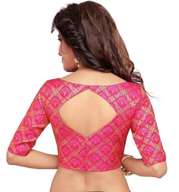 Kalamkari Saree Work Blouse Designs (19)