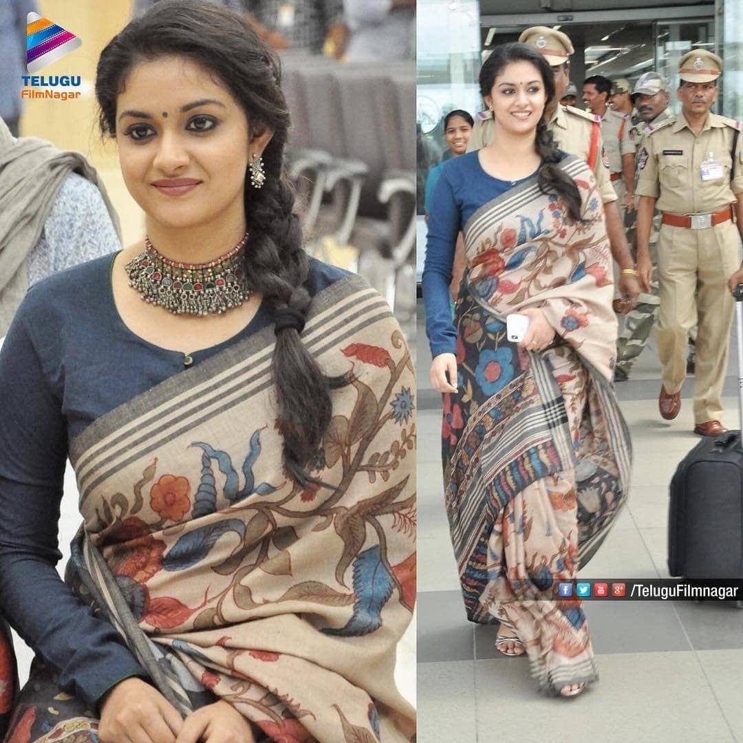 Kalamkari Saree Work Blouse Designs (204)
