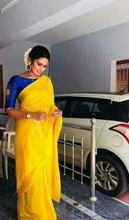 Kalamkari Saree Work Blouse Designs (213)