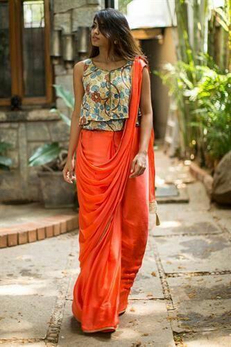 Kalamkari Saree Work Blouse Designs (221)